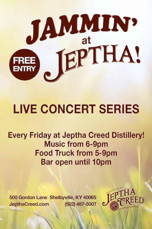 Announcing Jammin' at Jeptha