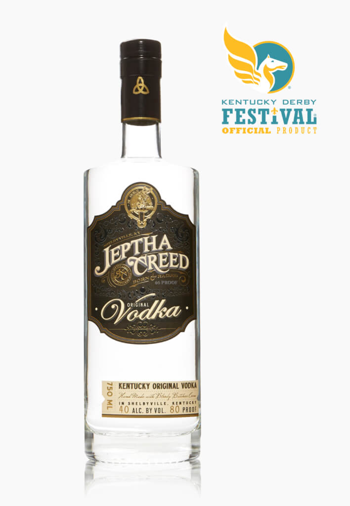 Jeptha Creed Announced as the Official Vodka of the Kentucky Derby Festival