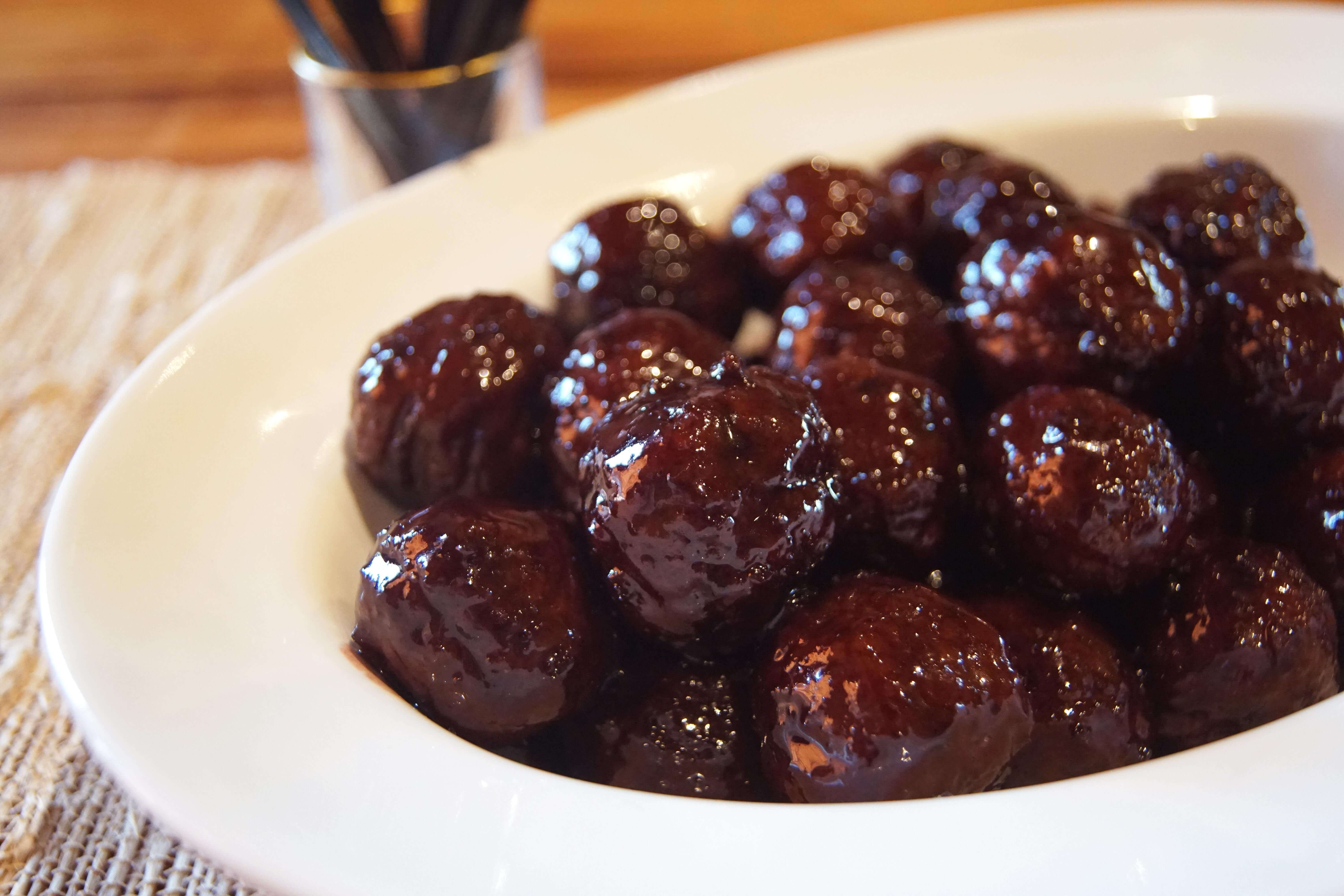 Blackberry moonshine meatballs jeptha creed a great appetizer for any event youre hosting easily scale the recipe up for larger groups or toss in a crockpot instead of cooking on a stovetop forumfinder Image collections