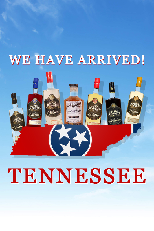 We're Now In Tennessee!