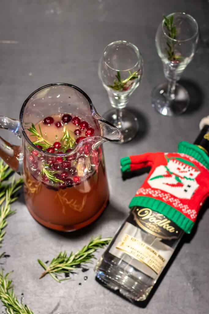 Holiday Batched Cocktails
