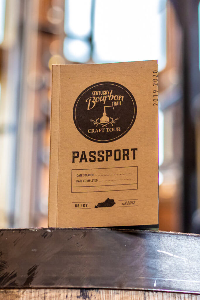 KENTUCKY BOURBON TRAIL CRAFT TOUR PASSPORT 2019